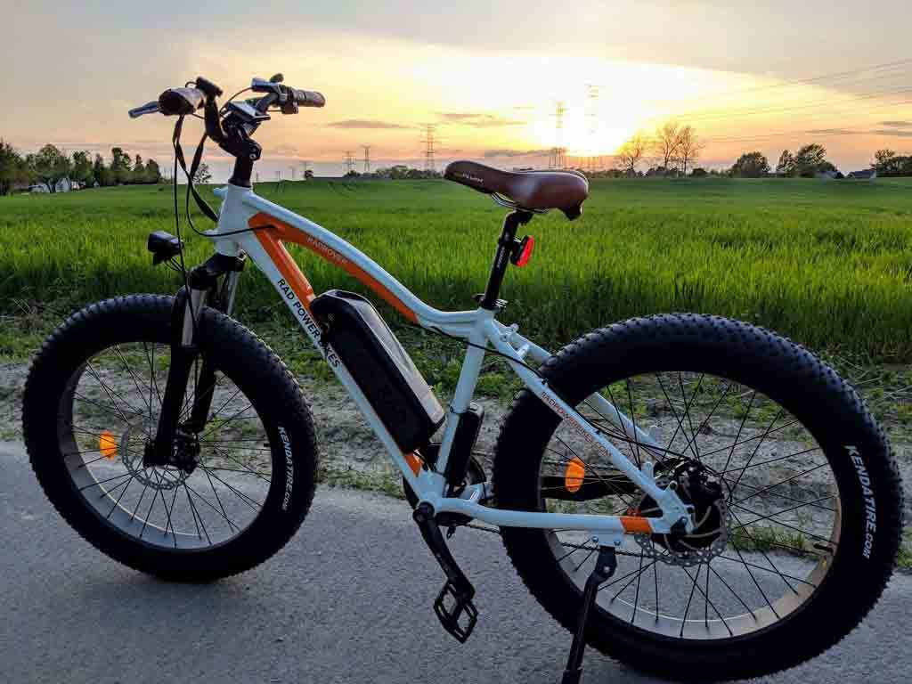2018 RAD Rover Electric Fat Bike - Sunset Bike Photo