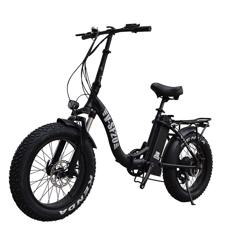 Vtuvia SF-20 Electric Folding - Bike - Black
