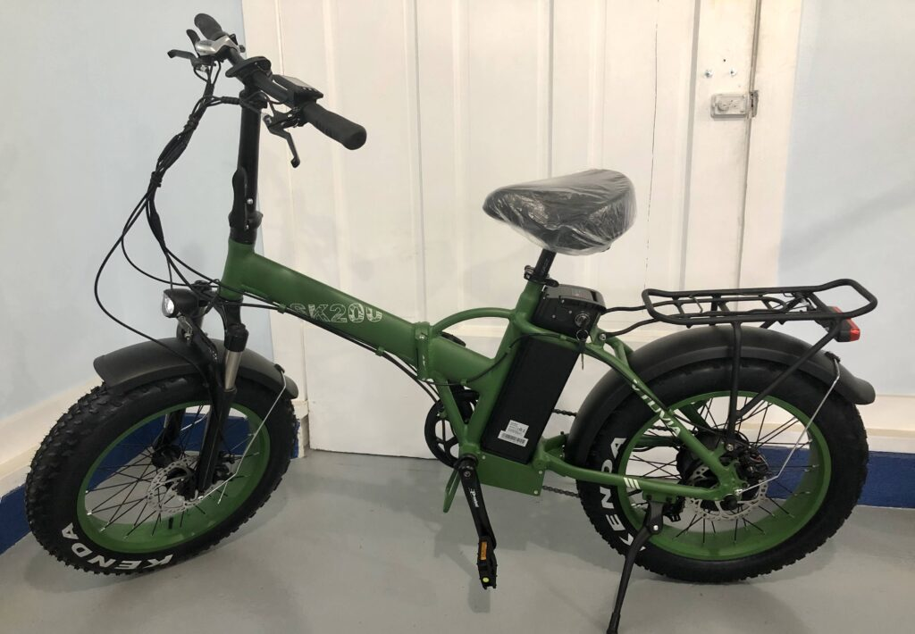 Vtuvia SK20 - Foldable Fat Tire E-Bike For Sale - $1,250 Interested? Call or SMS 317-207-0880, or fill out our contact form.