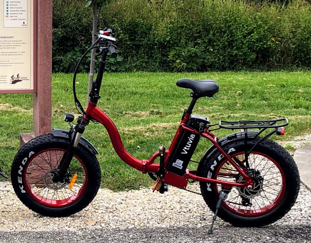 New - 2019 Vtuvia SF-20 Electric Folding Bike - $1,199