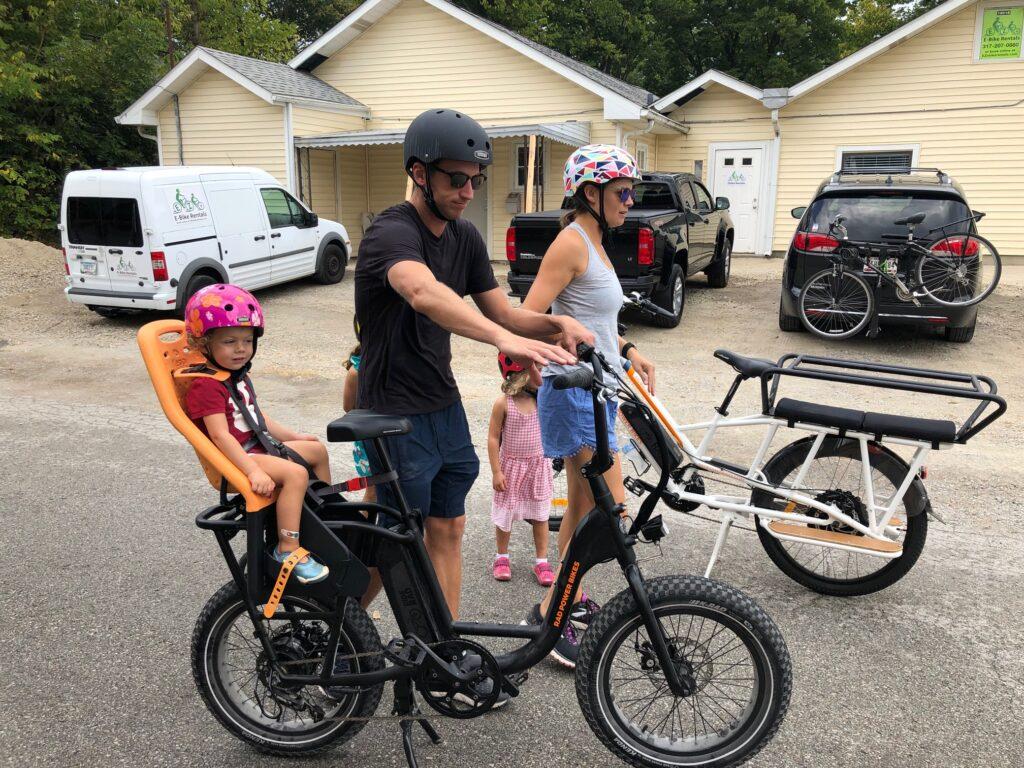 EZ E-Bike Rentals - Family of Four