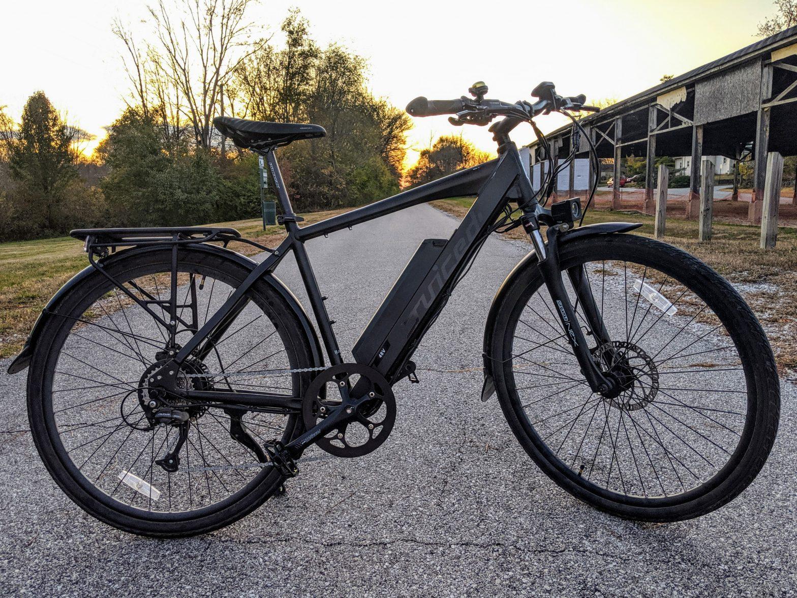 Used 2018 Juiced CrossCurrent E-Bike – XL Frame – 48 Volt – $1,399