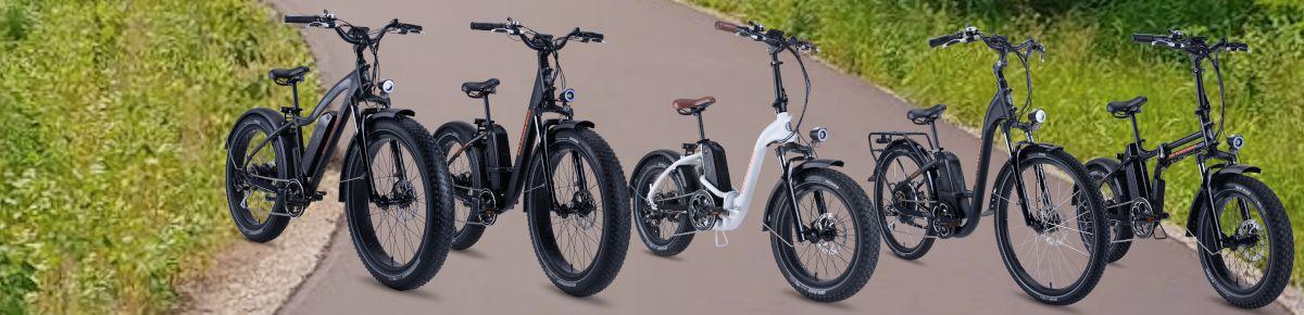 Our E-Bikes - Header